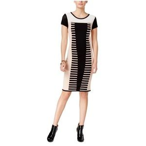 Bar III Mid Length Body Con Dress